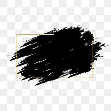 золотая рамка чернила граффити кисть диалоговое окно кисть эффект, Щетка, брызгать, чернила PNG ресурс рисунок и векторное изображение