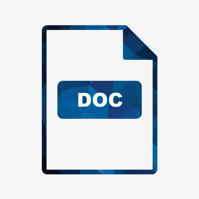 Vector Doc Icon, Doc Icons, Doc, Document PNG and Vector with Transparent  Background for Free Download