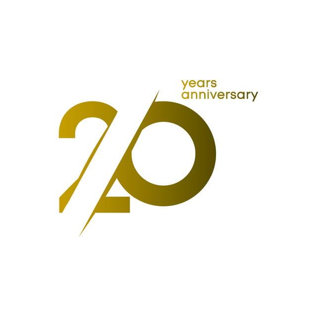 20 Ans Anniversaire Png.20 Ans Anniversaire Vecteur Modele Illustration 20 20e