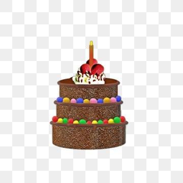 Pure Chocolate Birthday Cake, Chocolate Clipart, Birthday Clipart