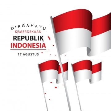 dirgahayu kemerdekaan republik indonesia poster vector template design illustration, Indonesia, Independence, Day PNG and Vector