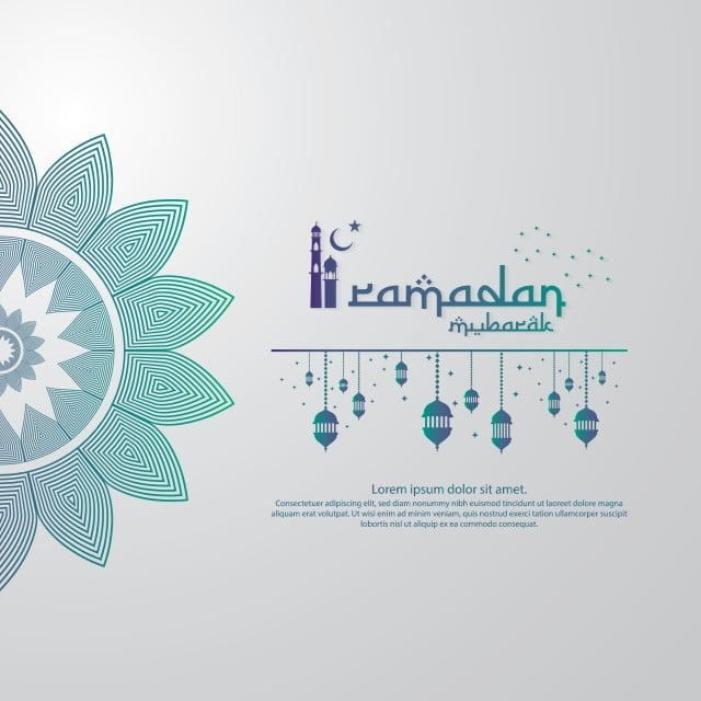 Islamic Design Concept Abstract Mandala With Pattern