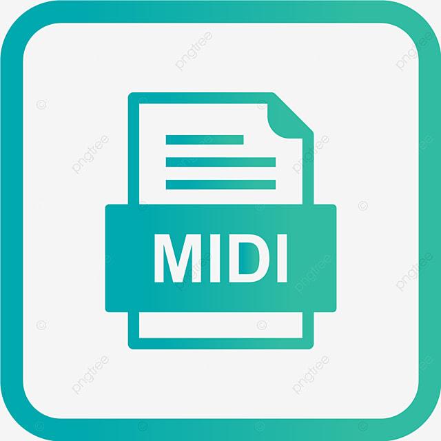 Midi File Document Icon, Midi, Document, File PNG and Vector