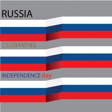 russia celebrates independence day, Russia, Flag, Day PNG and Vector
