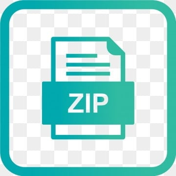 Zip File Png, Vector, PSD, and Clipart With Transparent Background