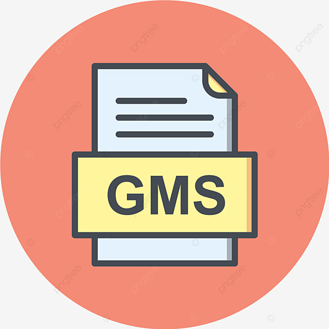 GMS File Document Icon, Gms, Document, File PNG and Vector with