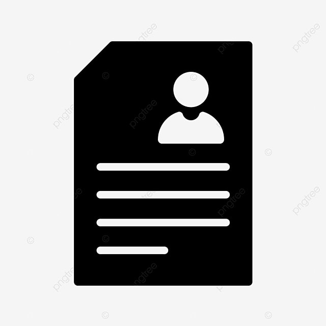 Vector Resume Icon Resume Icons Contract Cv Png And Vector With