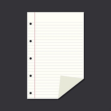 Vector Concept Of Blank Block Note Notepad Empty Notebook
