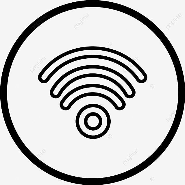 Wifi Vector Icon Antenna Modem Signal And Vector For Free
