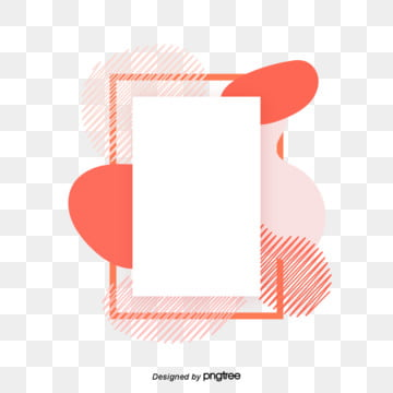 Fluid Gradient Coral Orange Trend Border living coral coral, Element, Creative, Abstract PNG and Vector