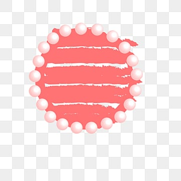 Creative hand-painted gradient elements of coral color living coral,coral, Circle, Hand Painted, Coral PNG and Vector