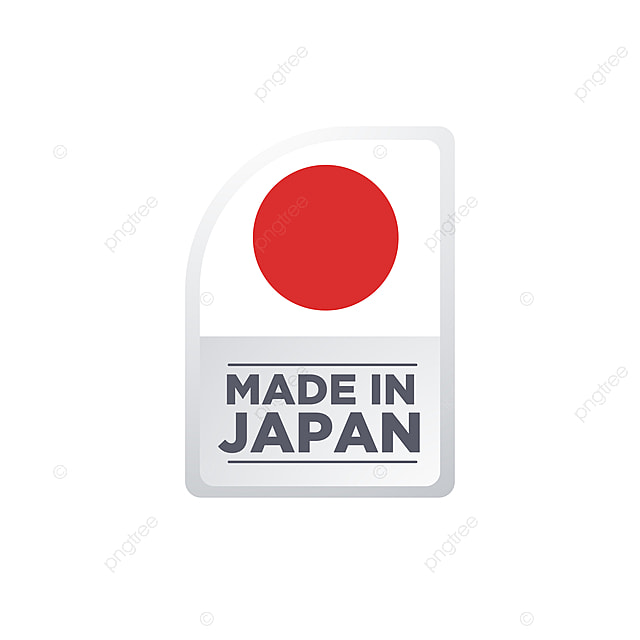 Made In Japan, Japan, Made, Tag PNG and Vector with Transparent ...