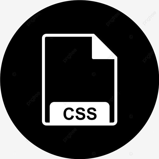 Vector CSS Icon, File, Format, File Format PNG and Vector