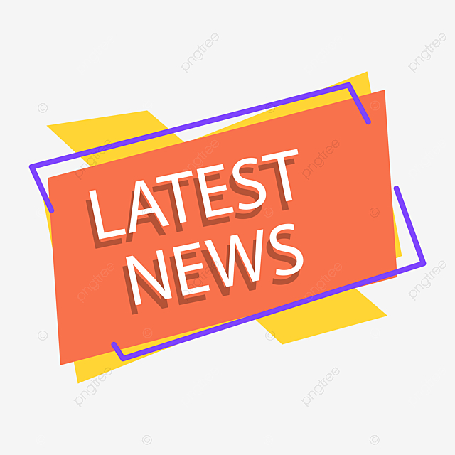 Vector Creative Latest News Tag, Banner, Breaking News