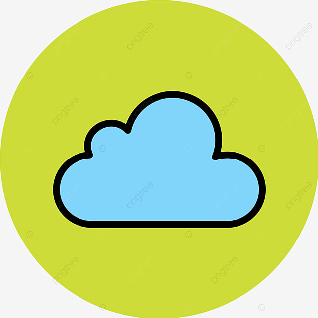 Vector Cloud Icon, Cloud, Data, Storage Icon PNG and Vector