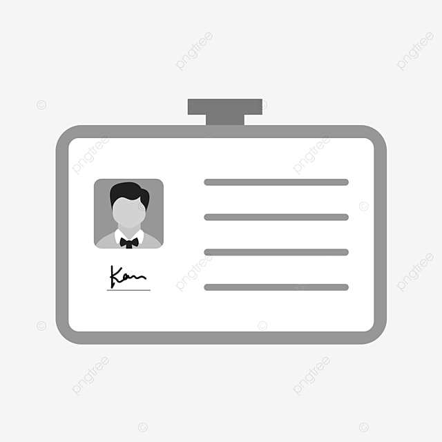 vector identity card icon card icons identity icons id card png and vector with transparent background for free download pngtree
