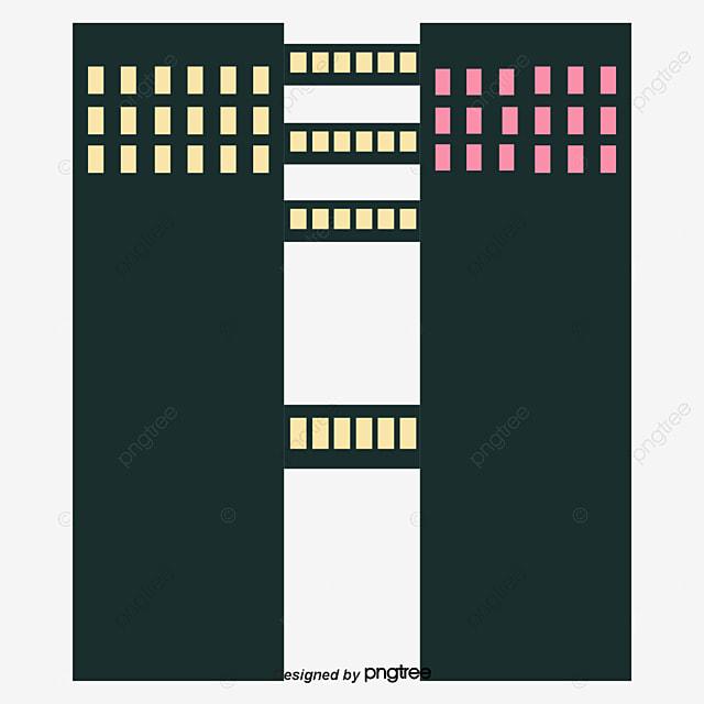 siluet gedung hitam siluet gedung perkantoran kota png dan vektor dengan latar belakang transparan untuk unduh gratis pngtree