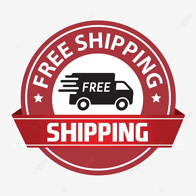 Frees mode payment. Free shipping png vector