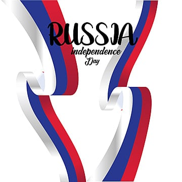 banner or poster of russia independence day celebration  russia flag  vector illustration  - vector, Russia, Day, Flag PNG and Vector