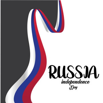 banner or poster of russia independence day celebration  russia flag  vector illustration    vector, Russia, Day, Flag PNG and Vector