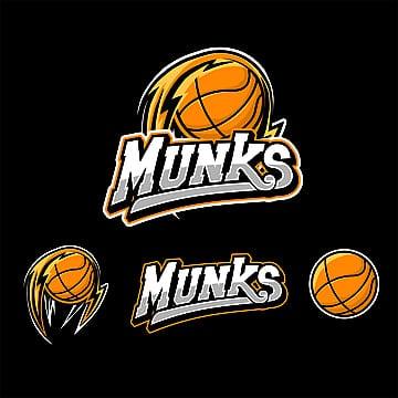 8396667ed Logótipo do basquetebol esport em pretoZangado Badge Emblemas PNG E Vetor.  Esportes ...
