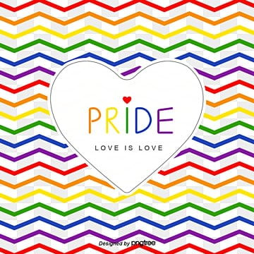 Pride Moon Colorful Ripple Love Background, Creative, Equality, Soft Pale PNG and Vector