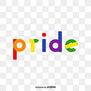 Pride Moon Rainbow Set Font, Geometric, Creative, Typeface PNG and Vector