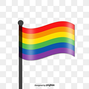 Pride Moon Rainbow Simulation Effect Flag, Lgbt, Creative, Homosexual PNG and Vector