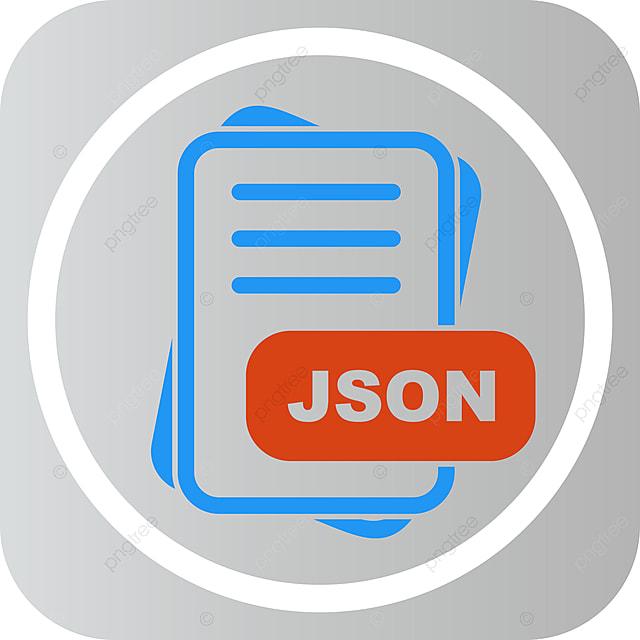 Json File Format Icon Design, Json File Format Icon, File
