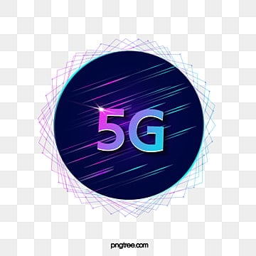 5g data circular gradient line, 5g, Transmission, Circular PNG and Vector