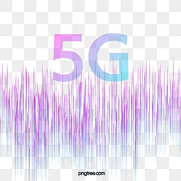 5g purple data line network transmission, 5g, Transmission, Data PNG and Vector
