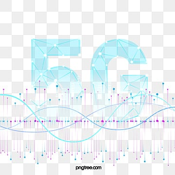 Blue Data Transfer 5g Gradient, 5g, Transmission, Data PNG and Vector