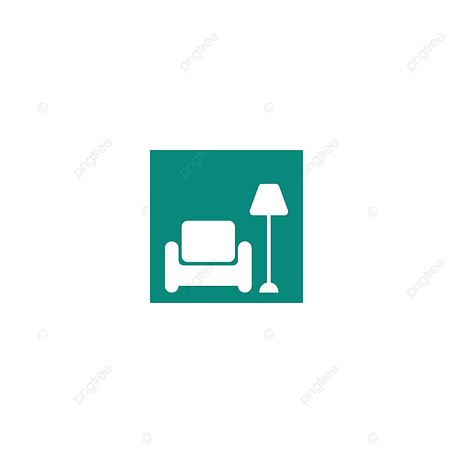 Sofa Chair Logo Furniture Design Vector Illustration Icon Element