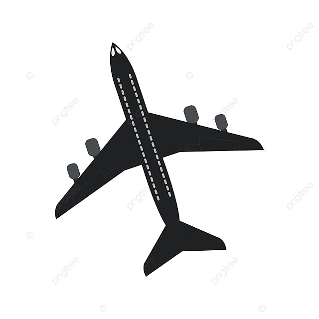 transparent background airplane icon png