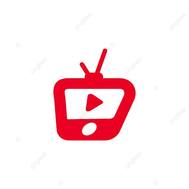 Tv Icon Logo Vector Illustration Element Isolated, Tv