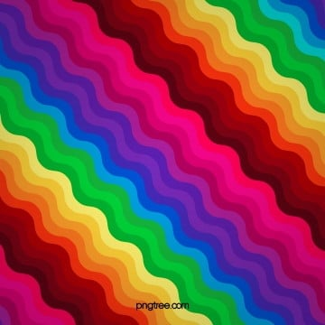 Ripple Rainbow Background, Colourful, Rainbow Background, Iridescent Color PNG and Vector