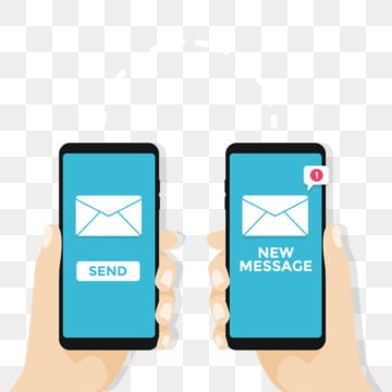 Send Message PNG Images | Vector and PSD Files | Free