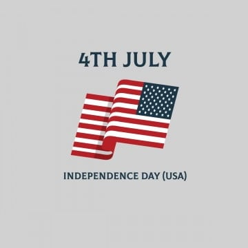 4th of July American flag American independence day USA  vector, 4th Of July, Memorial Day, Political PNG and Vector