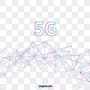 color gradient line node 5g data, 5g, Element, Color PNG and Vector