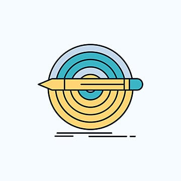 Target,aim,interface Icons Flat And Line Filled Icon Set Vec, Aim