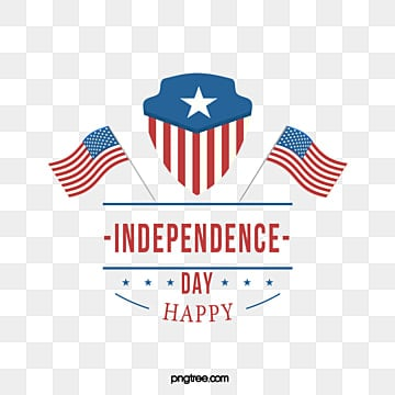 Simple National Flag American Independence Day Art Words, National Flag, Stars, Independence Day PNG and Vector