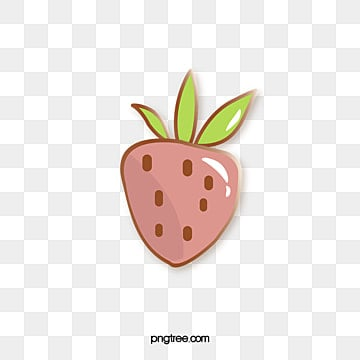 vector cartoon fruit strawberry badge, Creative, Cartoon, Badge PNG and Vector