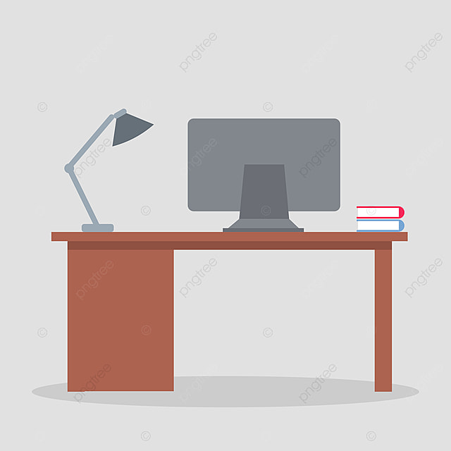 Modern Desktop Design With Study Laptop Tv Mobile Laptop Png And Vector With Transparent Background For Free Download
