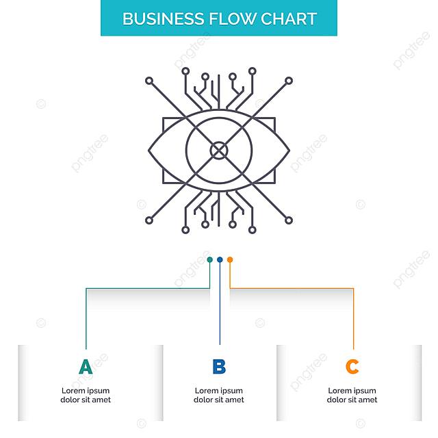 Ar,augmentation,cyber,eye,lens Business Flow Chart Design Wi, 3d