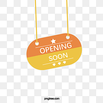 creative hand painted hanging grand opening label, Practice, Opening Label, Suspension Tag PNG and Vector