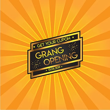 grand opening, Opening Soon, Soon, Banner PNG and Vector
