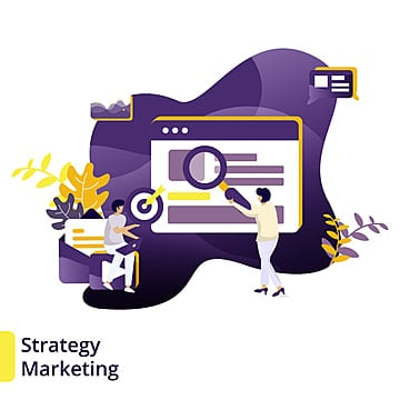 Illustration Strategy Marketing, Business, Data Analysis, Creative Idea PNG and Vector
