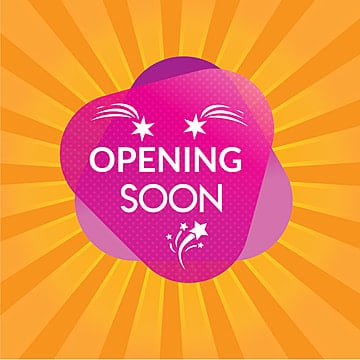 opening soon, Pening Soon, Open, Soon PNG and Vector