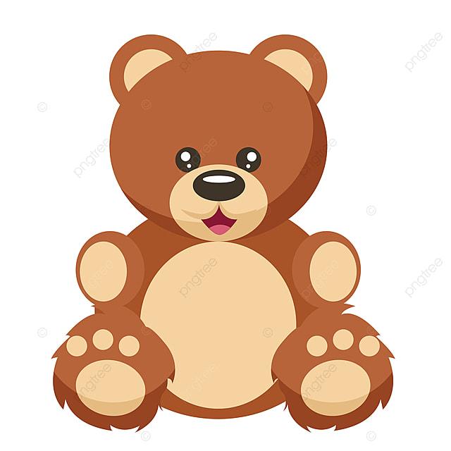 Design Of Soft Teddy Bear Bear Teddy Vector Png And Vector With