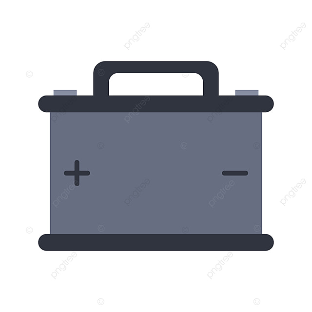 Car Battery Icon Power Vector Art Png And Vector With Transparent